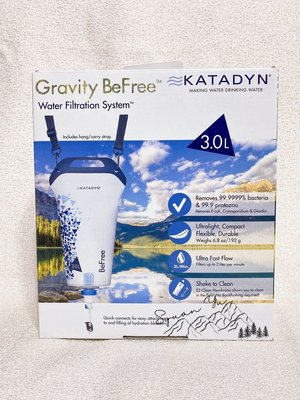 Katadyn Gravity Befree 3L 重力濾水器