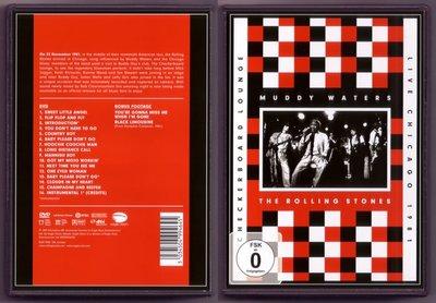 音樂居士#Muddy Waters and The Rolling Stones Live Chicago () DVD
