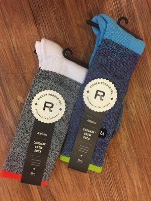 ☆AirRoom☆ 【現貨】 2015 A/W Richer Poorer STARTER 襪子 兩款 素色 百搭