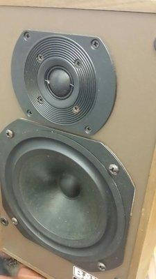 英國製 B&W DM 100 書架式喇叭