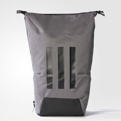 》P.S 》ADIDAS Z.N.E. SIDELINE BACKPACK 灰黑 三線 筆電包 雙肩 後背包CD1606