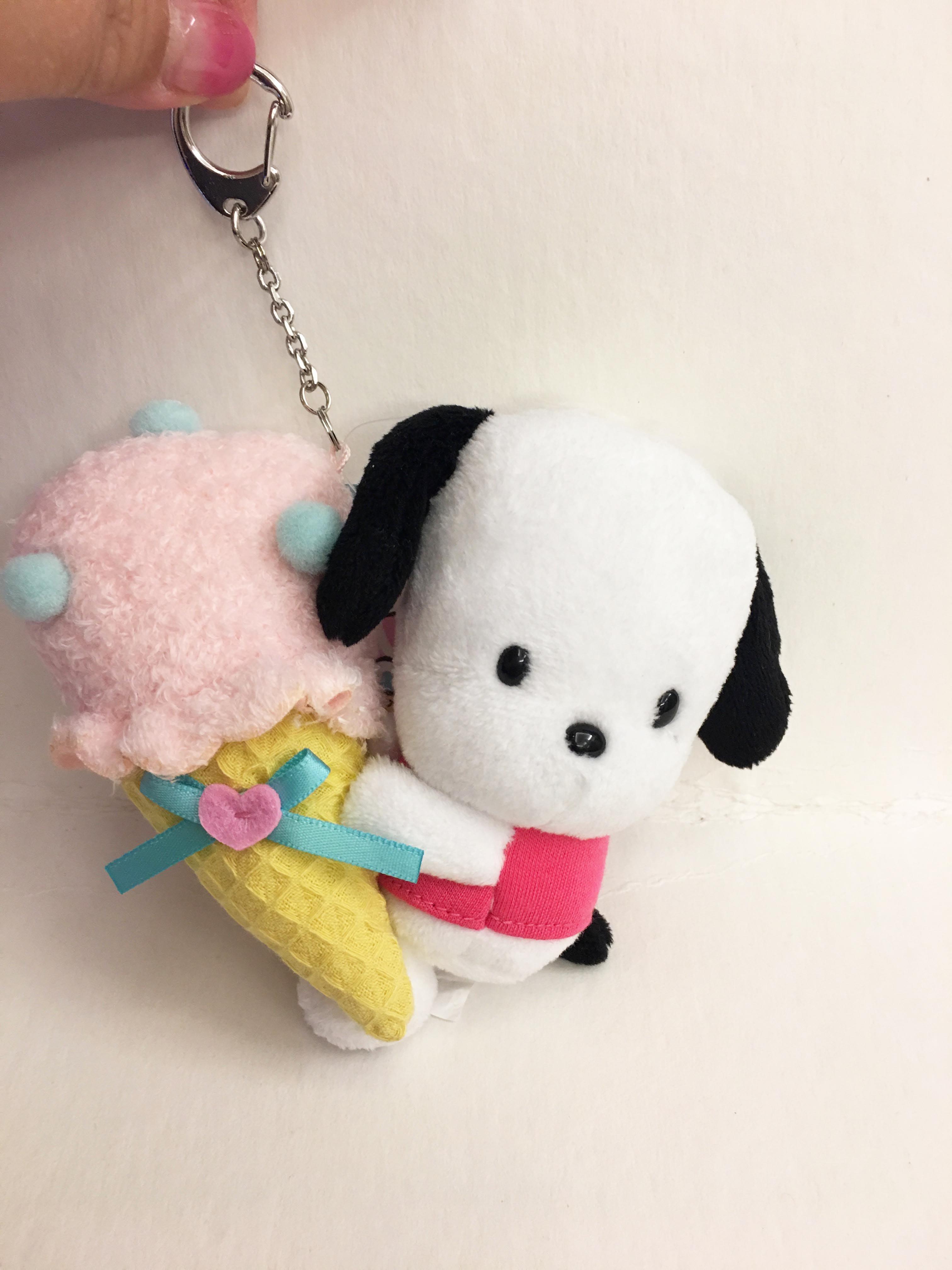 ^燕子部屋 ^正版 【帕洽狗 】造型玩偶鑰匙圈-冰淇淋