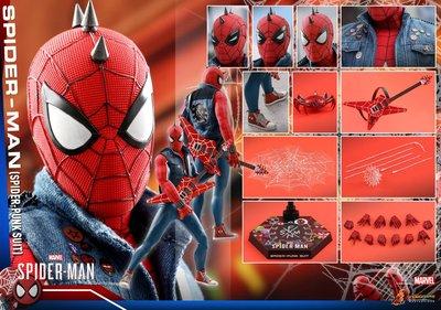 全新現貨 Hottoys Hot Toys VGM32 Marvel's Spider-Man 1/6 Spiderman Spider Punk Suit