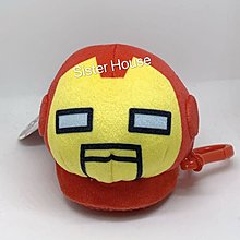 Marvel Avengers Iron Man Doll Keychain 復仇者聯盟鐵甲奇俠公仔鎖匙扣