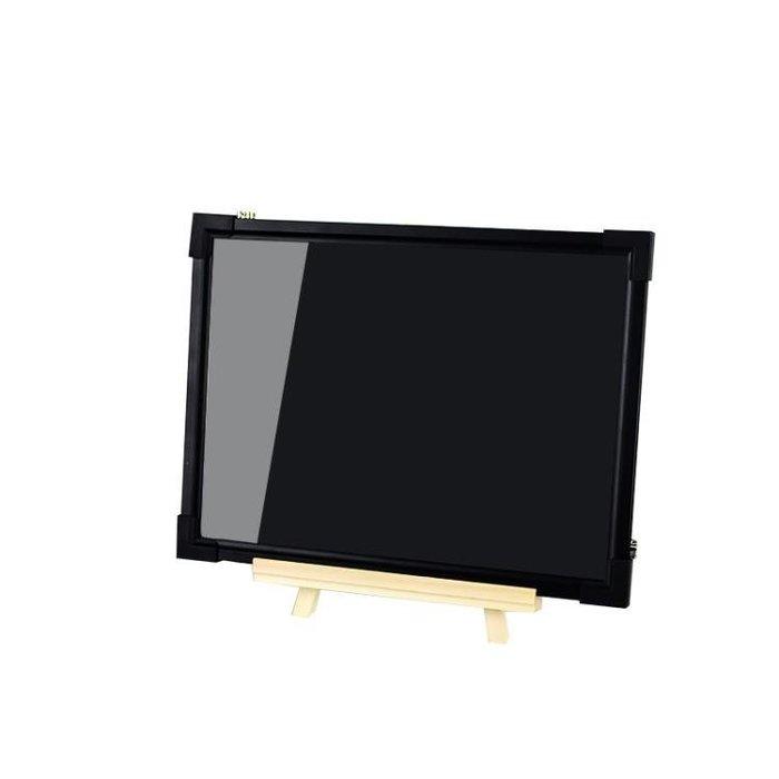 現貨/LED熒光板3040發光小黑板柜臺式手寫板留言寫字板廣告牌72SP5RL/ 最低促銷價