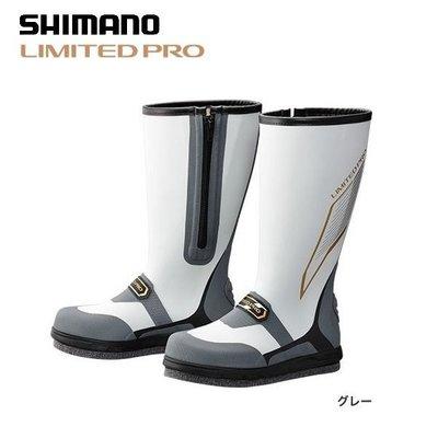 源豐網路釣具 - SHIMANO 16年新款 LIMITED PRO 長筒磯釣釘鞋/防滑鞋 FB-151P