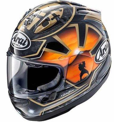 現貨《鼎鴻》ARAI頂級全罩式選手彩繪安全帽RX-7X PEDROSA SAMURAI SPIRIT金