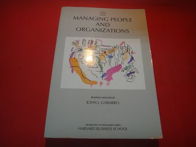【愛悅二手書坊 23-09】Managing People and Organizations