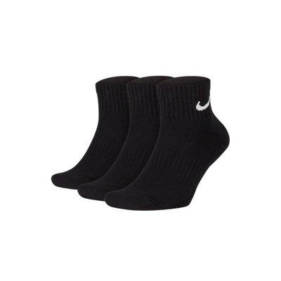 【風城正品】NIKE EVERYDAY CUSHION ANKLE 黑 中筒襪 三雙  SX7667-010
