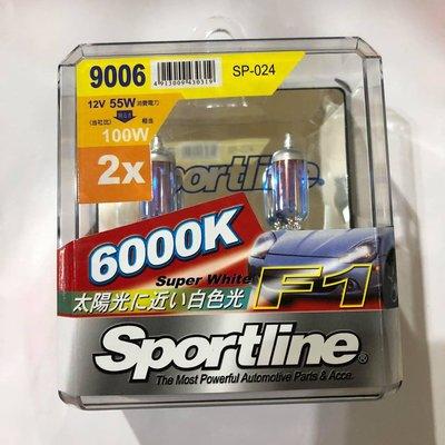 【Max魔力生活家】SPORTLINE 司博耐9006 6000K 白光燈泡(出清價299元~可超取)