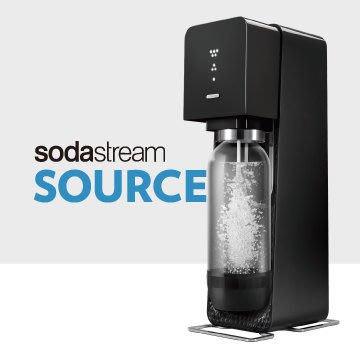 【大頭峰電器】SodaStream SOURCE氣泡水機 -黑色