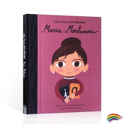 英文原版 Little People, Big Dreams:Maria Montessori 精裝小女孩,大夢想:瑪利亞·蒙臺梭利 教育家 精裝繪本 名人傳記