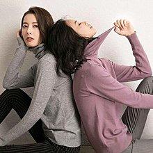 毛衣 堆堆領顯瘦保暖套頭針織衫 艾爾莎【TAE8118】