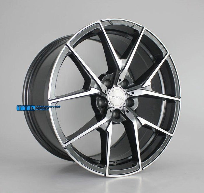 CIOVANNFD正品鋁圈旋壓 超輕量化18吋 前後配 F:8.5J / R:9.5J 全車系適用 灰底車面