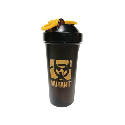 2020年新款 Mutant 乳清專用搖搖杯600cc - 酷炫黑黃