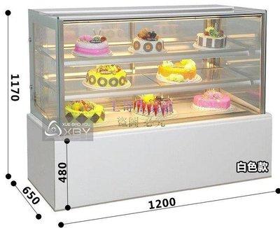 【凱迪豬廠家直銷】4尺大理石直角型蛋糕櫃 蛋糕冷藏櫃 蛋糕展示櫃