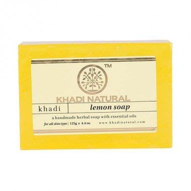 [綺異館]印度香皂 Khadi Lemon 檸檬 125克 / 售medimix 印度線香