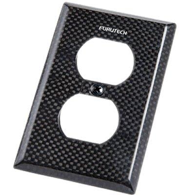 來店優惠 【音逸音響】旗艦級!碳纖維!電源壁插座用 蓋板》日本 Furutech 104-D