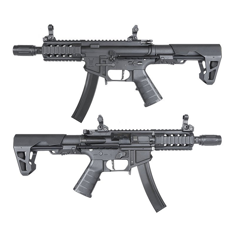 JHS((金和勝 生存遊戲專賣))KA 運動版 SBR 電動槍 6236