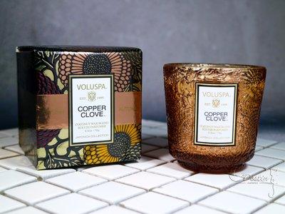 【新品】 Voluspa 美國 銅丁香 Copper Clove  2.5oz 玻璃瓶身 精美包裝