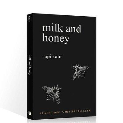 英文原版Milk and Honey牛奶與蜂蜜自傳體詩集丁丁張推薦英文版進口心靈治愈書籍作者露比考爾紐約時報暢銷書詩歌m
