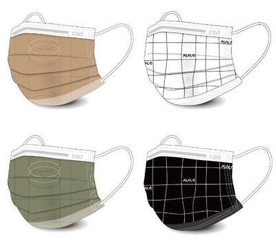 現貨 PORTER 口罩 CSD聯名款商品 防塵用品 駝色 奶茶色 綠格 黑格 一盒三十片