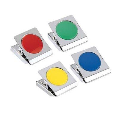 三燕 COX MS-400 彩色磁夾【圓型膠片】好好逛文具小舖