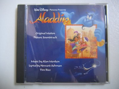 Aladdin 阿拉丁 (Disney) (OST) CD