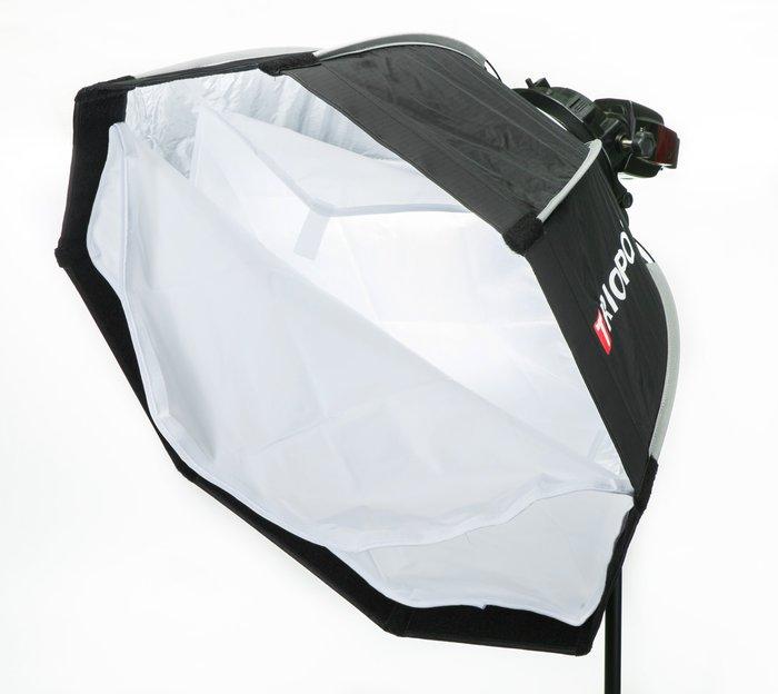 呈現攝影-Triopo OCT 快收柔光八角罩組 65cm 柔光箱 柔光罩 無影罩 雙層柔光 保榮卡口 TR-05 離機