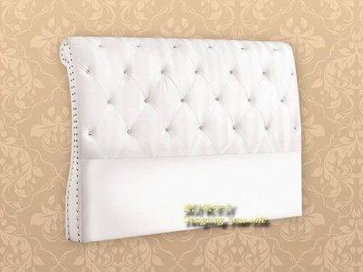 【設計私生活】蕾珍娜5尺白色床頭片(全館一律免運費)121 L