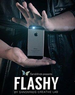 【手機瞬間消失】No161 Flashy,手機消失,手機瞬間不見,街頭魔術道具,效果無敵,魔術道具 !