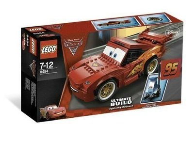 Lego Cars 8484 Ultimate Build Lightning Mc Queen 2011 242 pcs