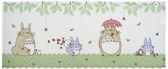 現貨不必等 送舊迎新 新生活 日本製 短門簾 窗簾 咖啡簾 龍貓  居家裝飾 C