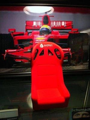 TAIWANSPEED極速台灣賽車時尚館-Autoart賽車椅手機座(陶瓷)--特價~
