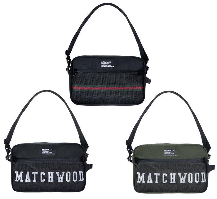 { POISON } MATCHWOOD SUMMIT BAG 短途行程機能性斜背小物手拿包 側背肩背胸前隨身小包