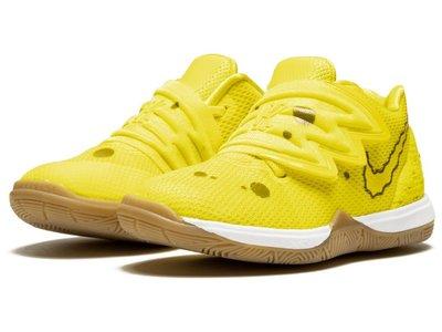 =CodE= NIKE KYRIE 5 SBSP BT SPONGEBOB 籃球學步鞋(黃)CN4490-700海綿寶寶