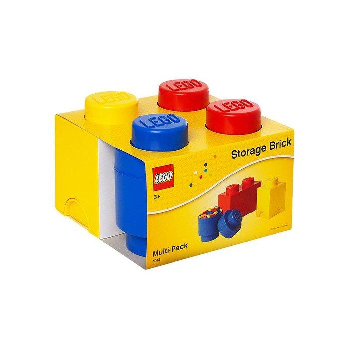 ☆║♥愷心小舖♥║☆正品LEGO樂高ROOM大型積木4合一組合 全新Lego Storage Brick    收納盒