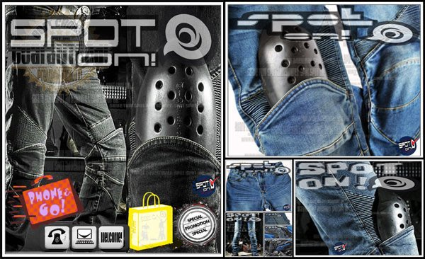 Spot ON - RPMCN R2A 新款立體剪裁牛仔褲 防摔褲.四件式可拆新款CE護具升級版! VESPA 小黃蜂