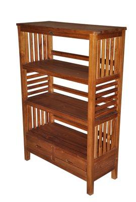 塔森柚木家具-全柚木書櫃/置物櫃/收納櫃 CA-7
