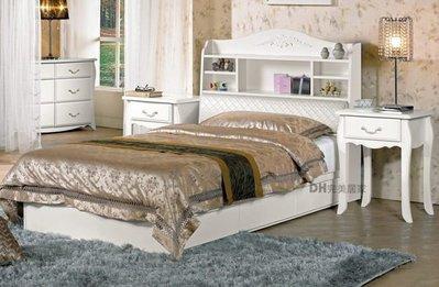 【DH】貨號G069-1《仙朵莉》3.5尺被櫥式單人床˙床頭箱+抽屜床底˙質感一流˙主要地區免運