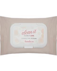 韓國 Banila Co. clean it 皇牌 保濕卸妝濕巾 30抽