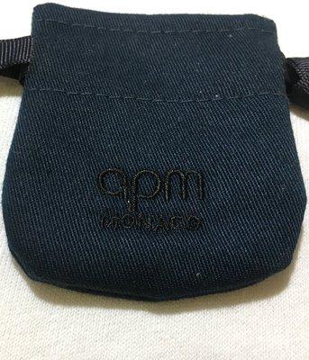 APM Monaco 正品首飾袋 抽繩袋 束口袋 精品防塵袋  飾品收納盒 項鍊 耳環 飾品防塵袋 收納袋 台北市