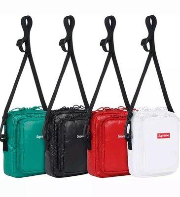 全新正品 17FW Supreme 43th Shoulder Bag 斜背包 側背包 肩背包 小包 隨身包
