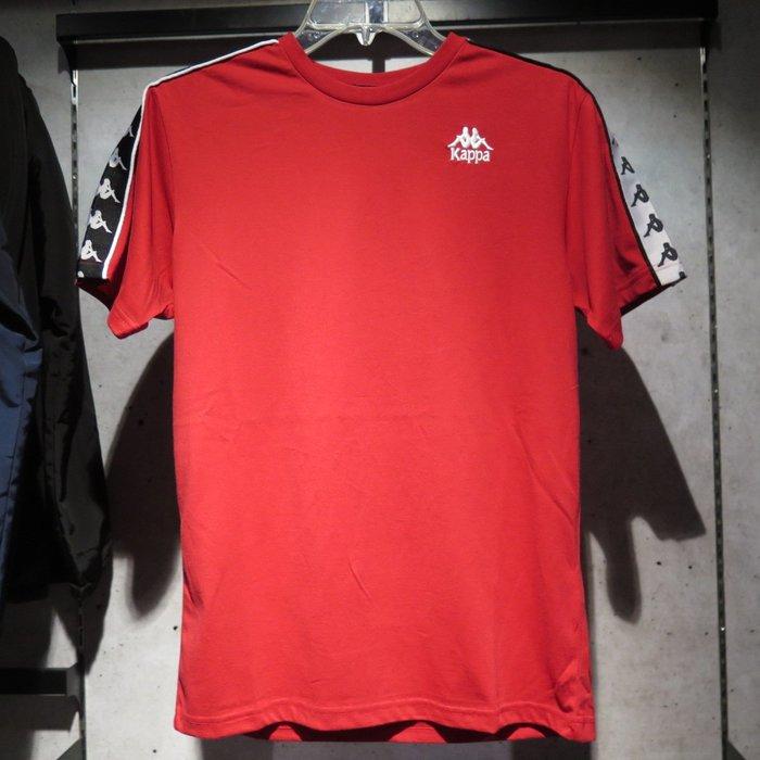 【iSport愛運動】KAPPA 串標Logo 短袖T恤 公司貨 合身版 303WGB09- 四色