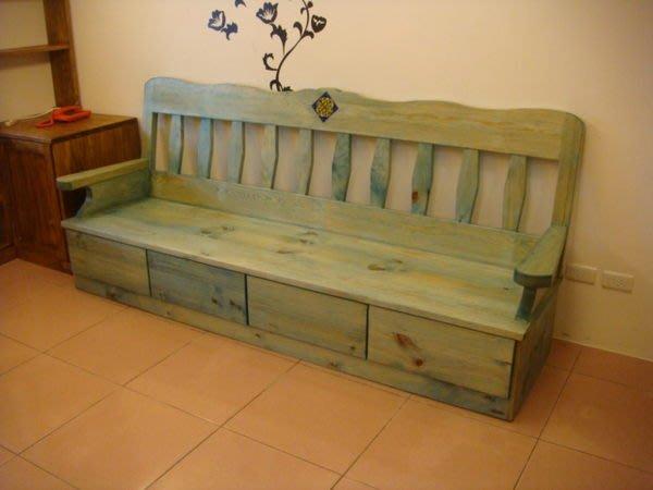 原木工坊~ 室內空間配置規劃  原木家具訂做  厚實原木收納沙發