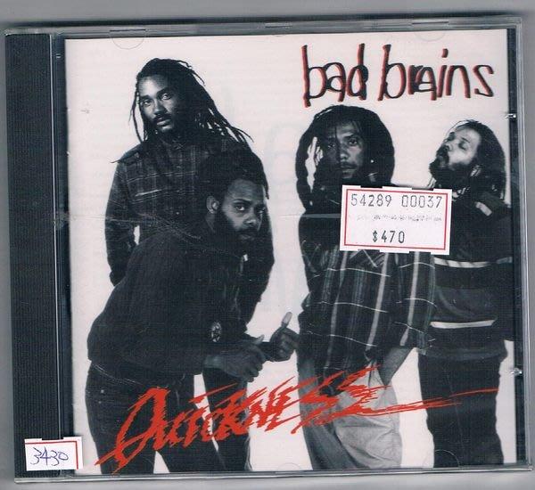 [鑫隆音樂]另類CD-BAD BRAINS壞頭殼樂團:QUICKNESS (全新)免競標