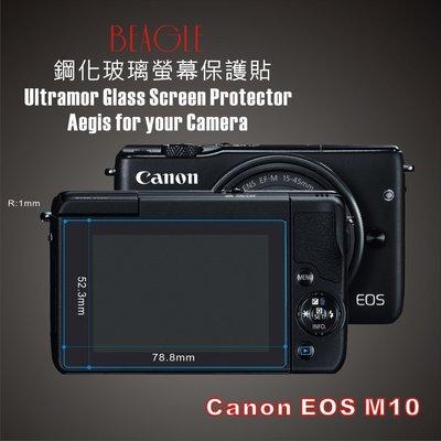 (BEAGLE)鋼化玻璃螢幕保護貼 Canon EOS M10 專用-可觸控-抗指紋油汙-耐刮硬度9H-防爆-台灣製