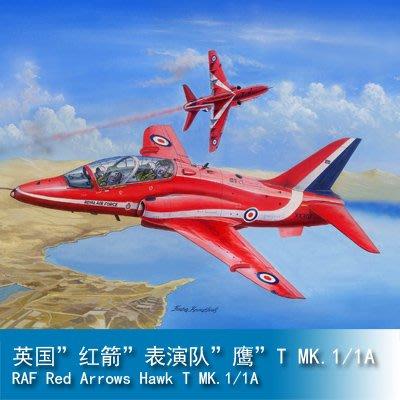 "JAMES ROOM小號手1/48 英國""紅箭""表演隊""鷹""T MK.1/1A 81738"