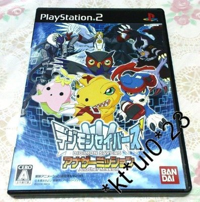 $80   PS 2 DIGIMON SAVERS ANOTHER MISSION 數碼暴龍 拯救者另一個任務 RPG GAMES
