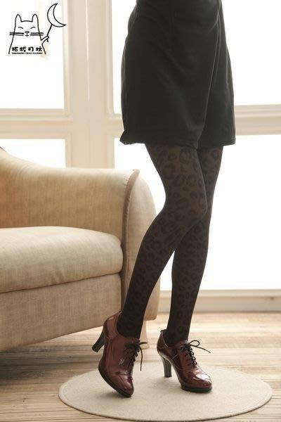 【拓拔月坊】日本知名品牌 M&M Frifla 豹紋斑點 褲襪 日本製~現貨!